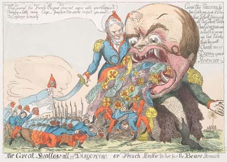 (3)Генерал Массена заставил монстра-Суворова открыть пасть и извергнуть сожранных им солдат 1799 г копия