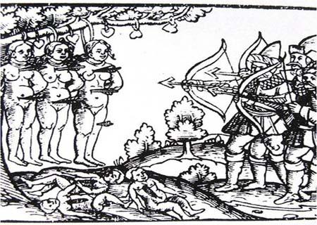 (4)Зверства московитов в Лифляндии Нюренберг 1561