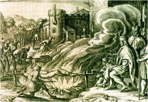 (5)Иван Грозный казнит Иоганна Бойе коменданта крепости Вейзенштейн 17 век