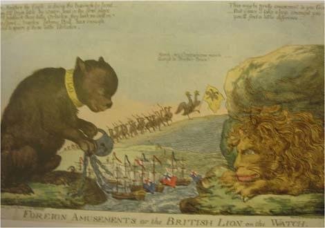 (7)Иностранные забавы или Британский Лев начеку 1 января 1801 г